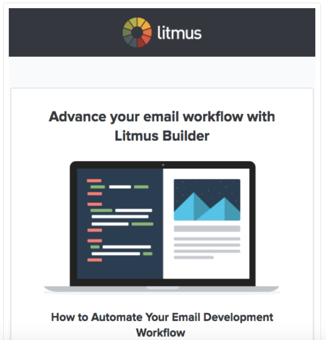 litmus personalized email