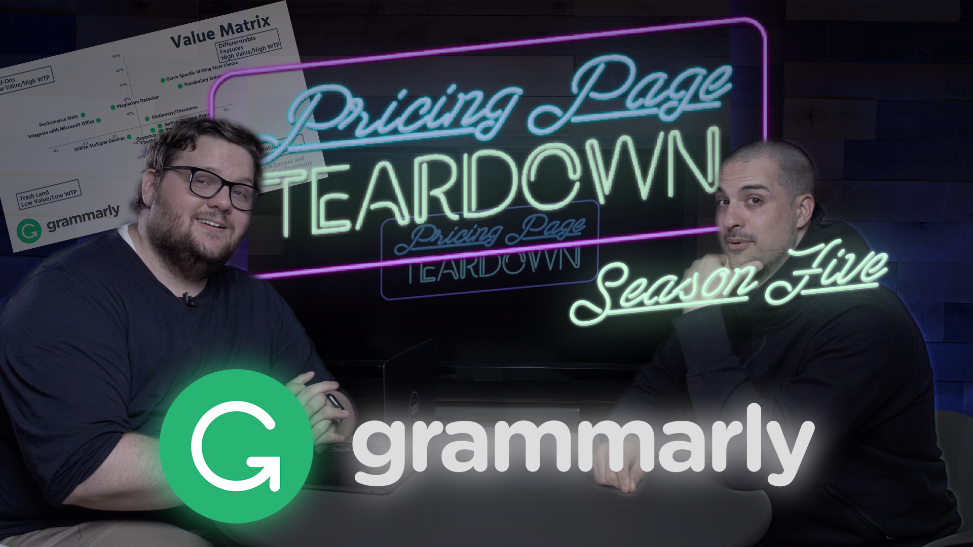 Pricing Page Teardown Episode 59: Grammarly